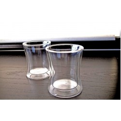 Tryeh Glass Mug - Double Walled