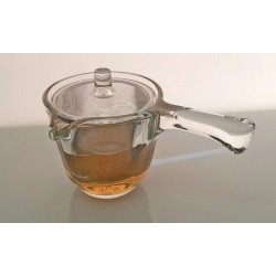 Tryeh Glass Teapot with Handle