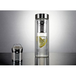 Tryeh Glass Tumbler - Screw Top